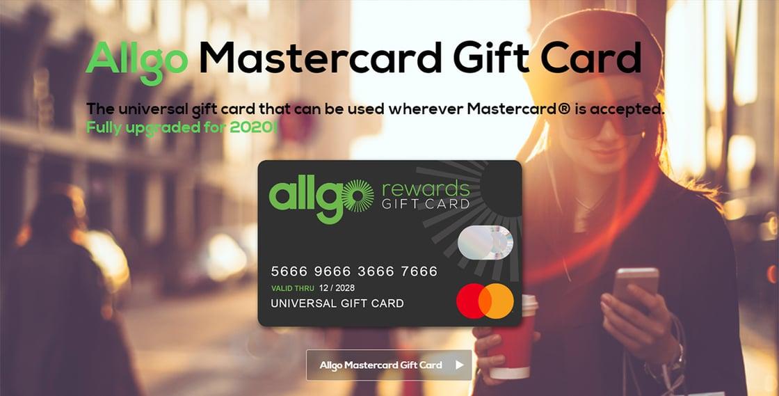 Allgo Mastercard Gift Card