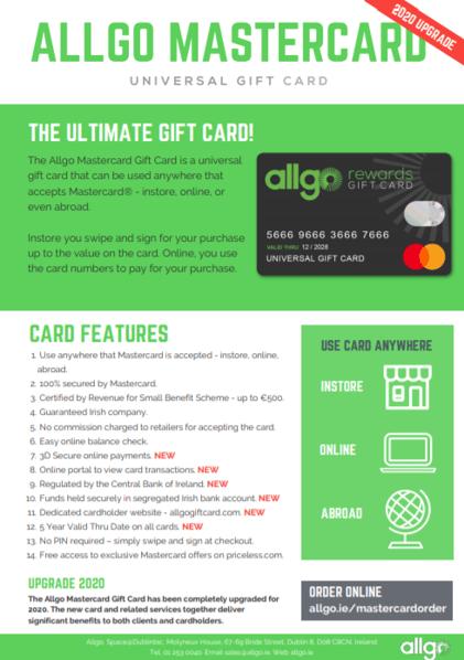 Allgo Mastercard Sales Brochure